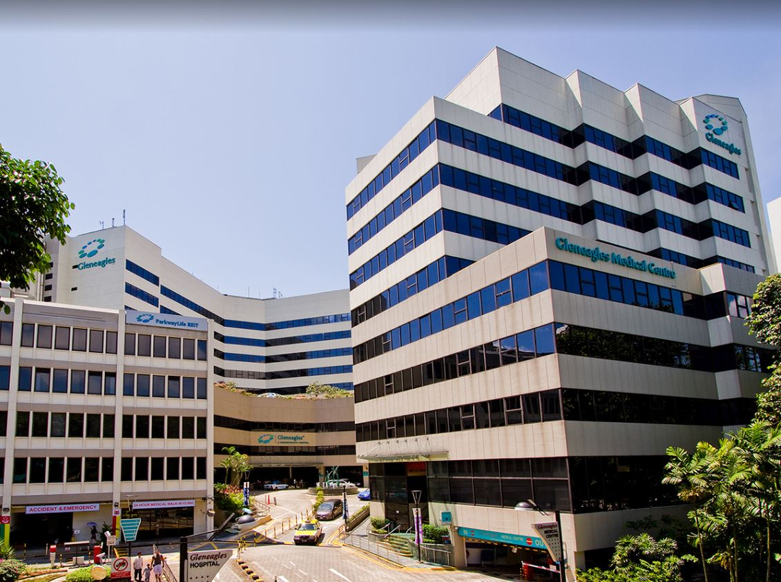 Location of Neurosurgery Singapore