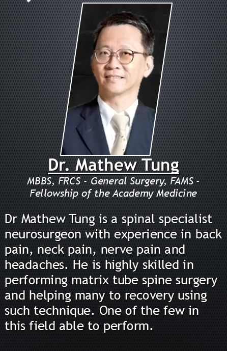 Experienced Neurologist in bio in treating lower back pain