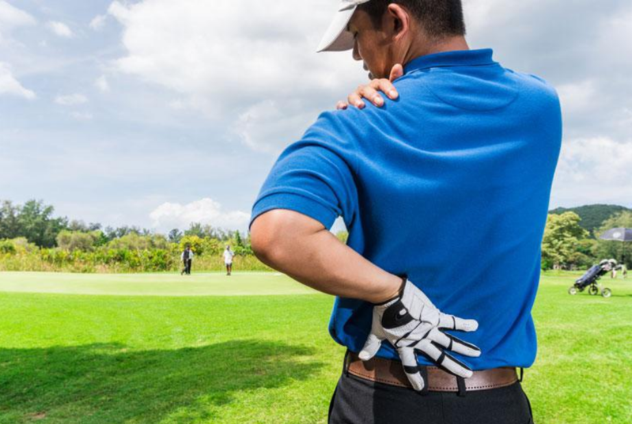 Lower back pain caused by sports injuries