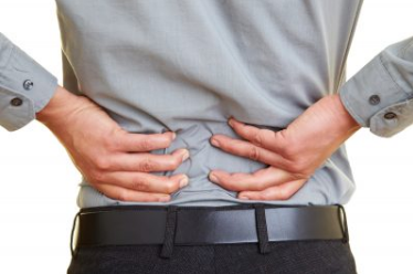 Lower back nerve pain cause by sudden movement
