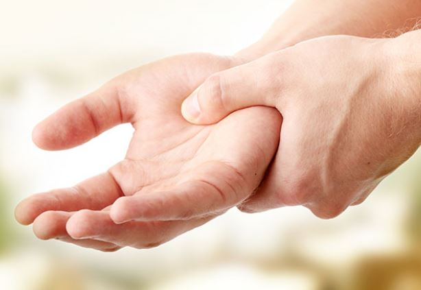 Ischemic stroke may cause hand numb or weak